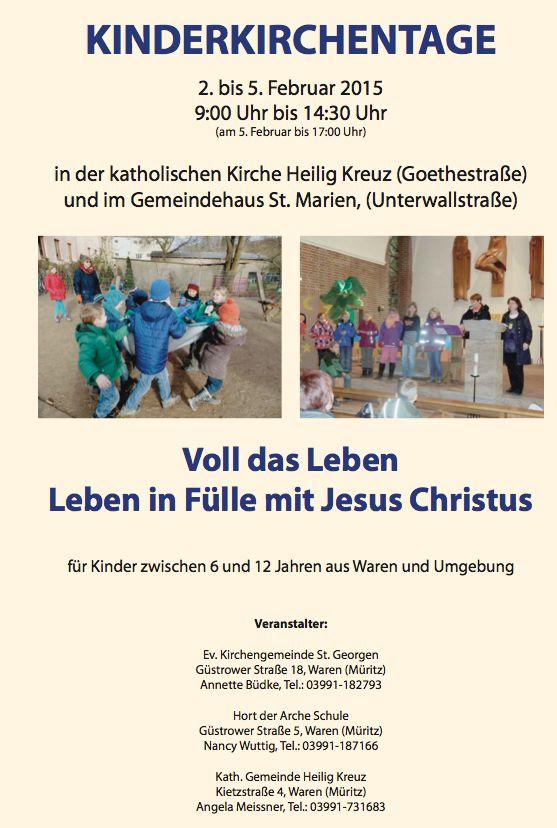 Kinderkirchentage