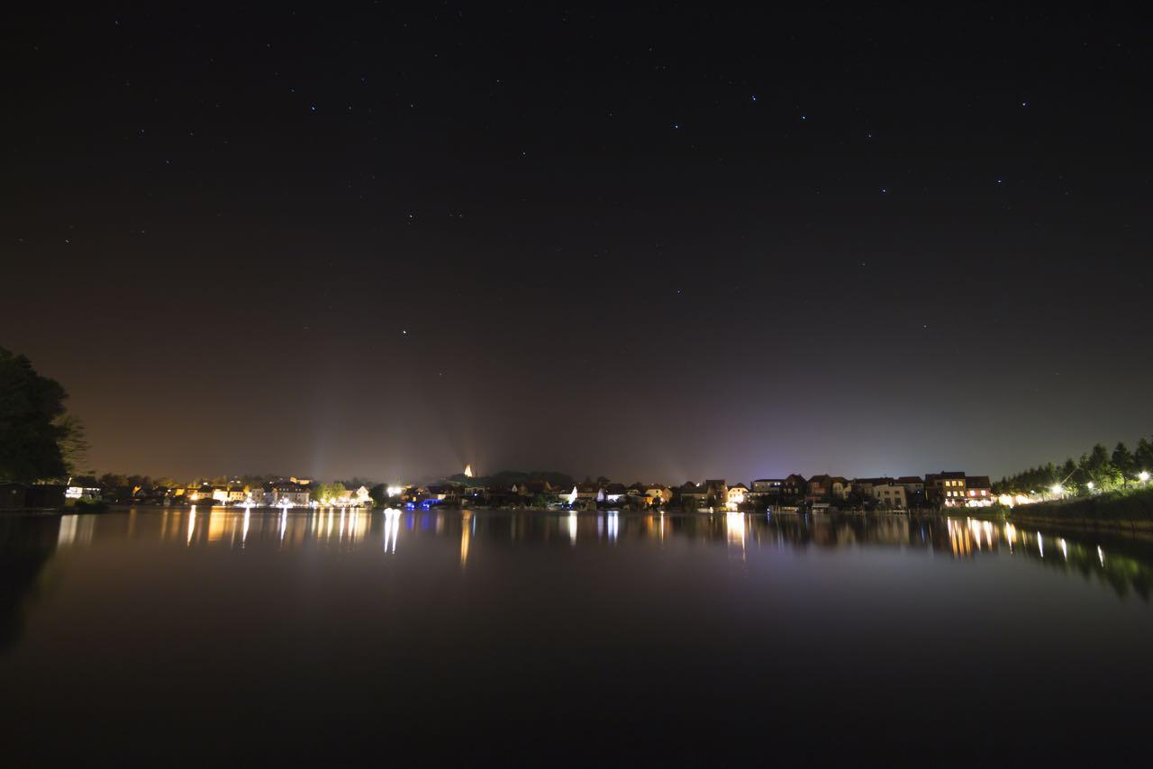 malchow bei nacht