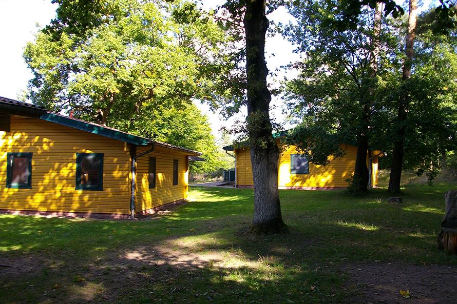 Gästehütten im JWH Loppin