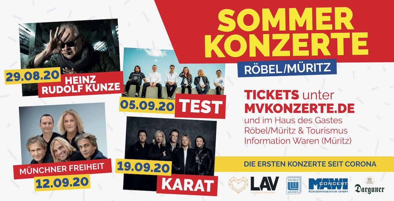 Open Air Sommerkonzerte Starten In Robel Wir Sind Muritzer