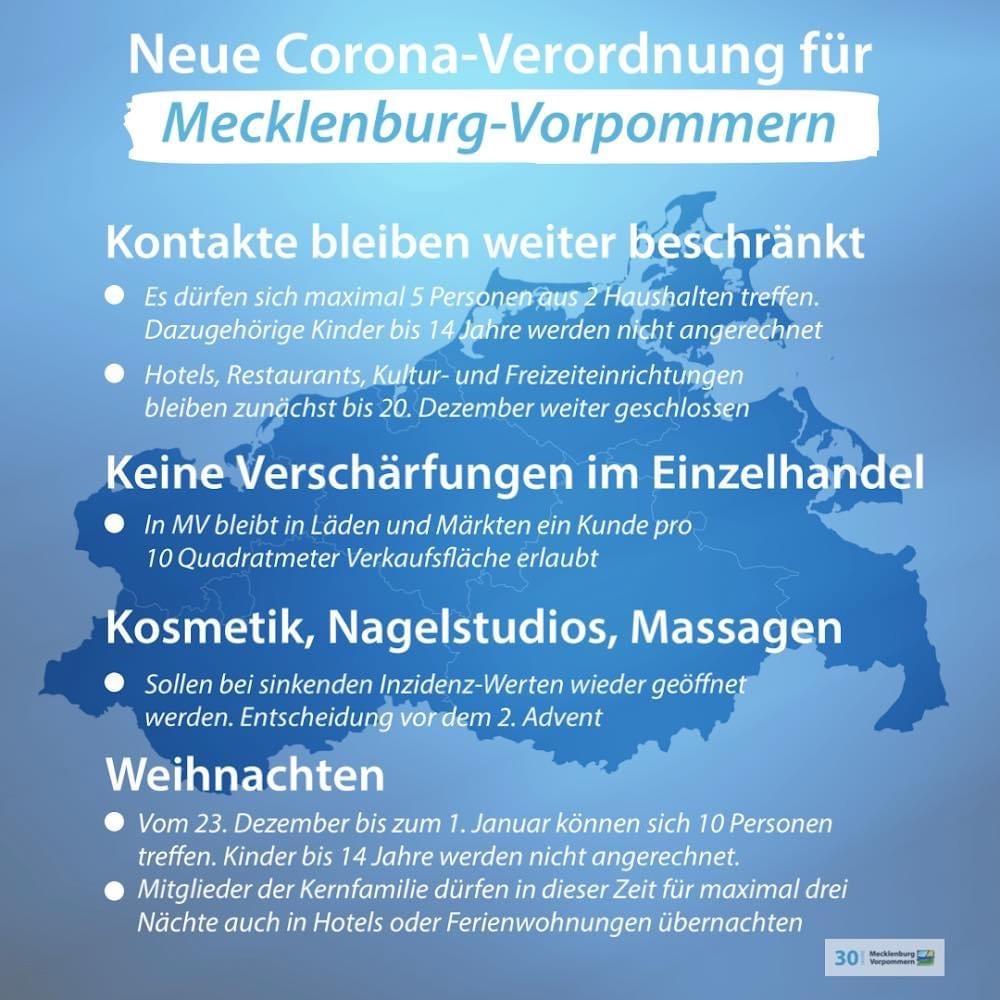 Corona Regeln Mecklenburg Vorpommern
